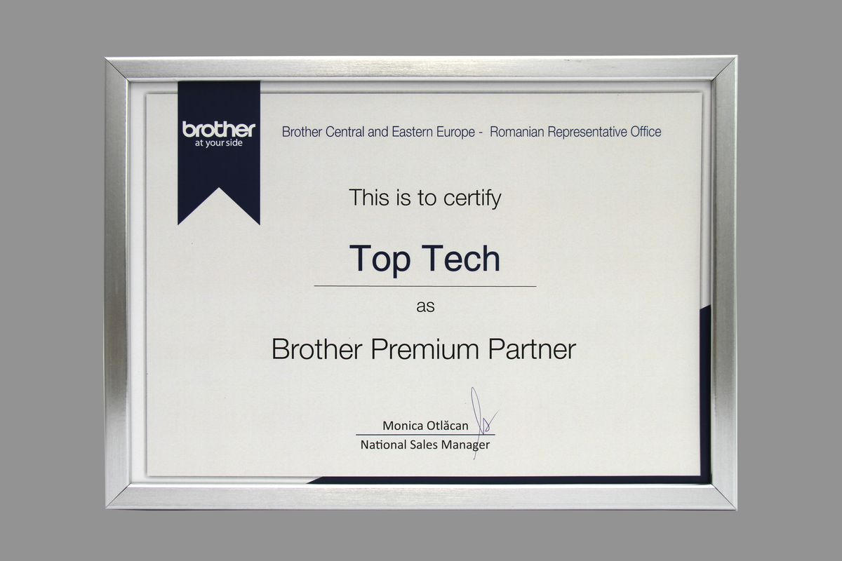 TopTech - Brother Premium partner